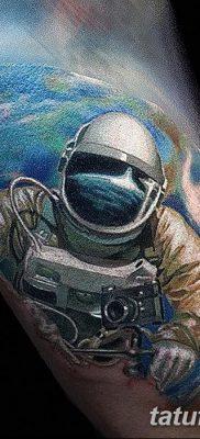 фото тату космонавт от 25.12.2017 №089 – cosmonaut tattoo – tatufoto.com