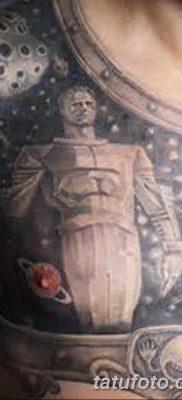 фото тату космонавт от 25.12.2017 №100 – cosmonaut tattoo – tatufoto.com