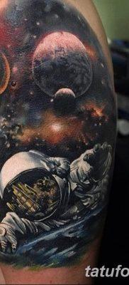 фото тату космонавт от 25.12.2017 №103 – cosmonaut tattoo – tatufoto.com
