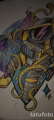 фото тату космонавт от 25.12.2017 №104 – cosmonaut tattoo – tatufoto.com