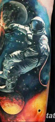 фото тату космонавт от 25.12.2017 №106 – cosmonaut tattoo – tatufoto.com
