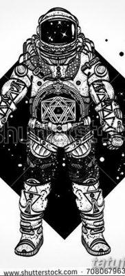 фото тату космонавт от 25.12.2017 №113 – cosmonaut tattoo – tatufoto.com