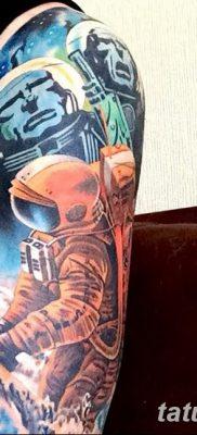 фото тату космонавт от 25.12.2017 №115 – cosmonaut tattoo – tatufoto.com