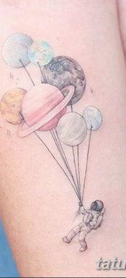 фото тату космонавт от 25.12.2017 №120 – cosmonaut tattoo – tatufoto.com