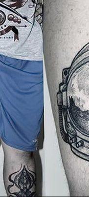 фото тату космонавт от 25.12.2017 №121 – cosmonaut tattoo – tatufoto.com