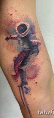 фото тату космонавт от 25.12.2017 №122 – cosmonaut tattoo – tatufoto.com