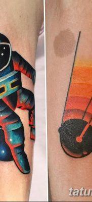 фото тату космонавт от 25.12.2017 №123 – cosmonaut tattoo – tatufoto.com