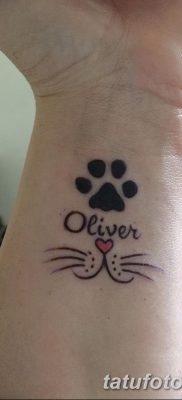 фото тату котенок от 22.12.2017 №023 – tattoo kitten – tatufoto.com