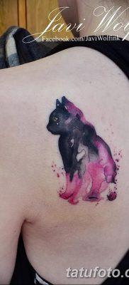 фото тату котенок от 22.12.2017 №024 – tattoo kitten – tatufoto.com