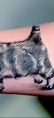 фото тату котенок от 22.12.2017 №034 – tattoo kitten – tatufoto.com