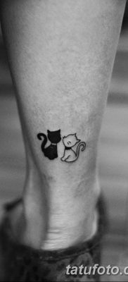 фото тату котенок от 22.12.2017 №039 – tattoo kitten – tatufoto.com