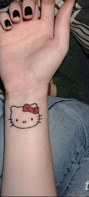 фото тату котенок от 22.12.2017 №052 – tattoo kitten – tatufoto.com
