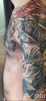 фото тату ниндзя от 25.12.2017 №005 – tattoo ninja – tatufoto.com