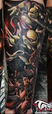фото тату ниндзя от 25.12.2017 №007 – tattoo ninja – tatufoto.com