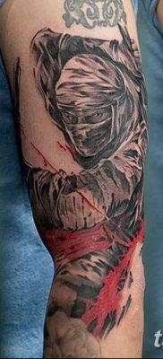 фото тату ниндзя от 25.12.2017 №016 – tattoo ninja – tatufoto.com