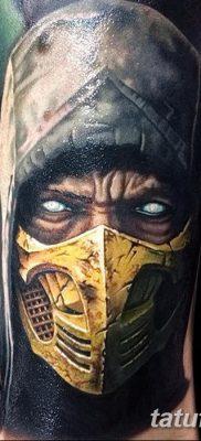 фото тату ниндзя от 25.12.2017 №045 – tattoo ninja – tatufoto.com
