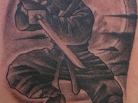 фото тату ниндзя от 25.12.2017 №051 - tattoo ninja - tatufoto.com