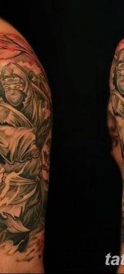 фото тату ниндзя от 25.12.2017 №067 – tattoo ninja – tatufoto.com