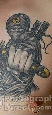 фото тату ниндзя от 25.12.2017 №072 – tattoo ninja – tatufoto.com