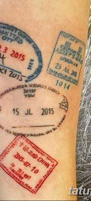 фото тату печать от 30.12.2017 №013 – tattoo seal – tatufoto.com