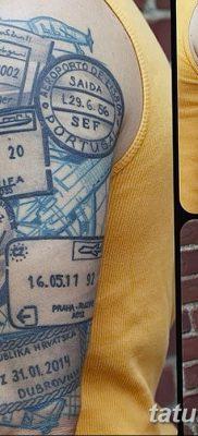 фото тату печать от 30.12.2017 №026 – tattoo seal – tatufoto.com