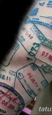фото тату печать от 30.12.2017 №032 – tattoo seal – tatufoto.com