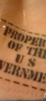 фото тату печать от 30.12.2017 №058 – tattoo seal – tatufoto.com