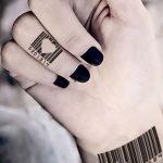 фото тату штрих-код от 21.12.2017 №019 - tattoo barcode - tatufoto.com