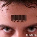 фото тату штрих-код от 21.12.2017 №027 - tattoo barcode - tatufoto.com