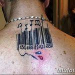 фото тату штрих-код от 21.12.2017 №041 - tattoo barcode - tatufoto.com