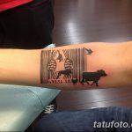 фото тату штрих-код от 21.12.2017 №054 - tattoo barcode - tatufoto.com