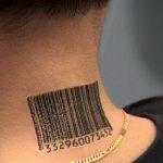 фото тату штрих-код от 21.12.2017 №060 - tattoo barcode - tatufoto.com