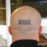 фото тату штрих-код от 21.12.2017 №079 - tattoo barcode - tatufoto.com