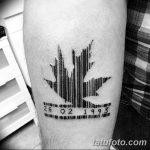 фото тату штрих-код от 21.12.2017 №118 - tattoo barcode - tatufoto.com
