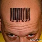 фото тату штрих-код от 21.12.2017 №145 - tattoo barcode - tatufoto.com