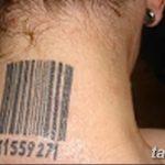 фото тату штрих-код от 21.12.2017 №151 - tattoo barcode - tatufoto.com