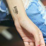 фото тату штрих-код от 21.12.2017 №152 - tattoo barcode - tatufoto.com