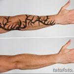 фото Выведение тату лазером от 14.01.2018 №003 - Laser tattoo removal - tatufoto.com
