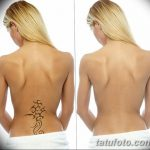 фото Выведение тату лазером от 14.01.2018 №049 - Laser tattoo removal - tatufoto.com