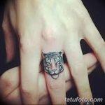 фото Маленькие тату для девушек от 26.01.2018 №002 - Little tattoos for girls - tatufoto.com