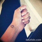 фото Маленькие тату для девушек от 26.01.2018 №004 - Little tattoos for girls - tatufoto.com