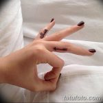фото Маленькие тату для девушек от 26.01.2018 №025 - Little tattoos for girls - tatufoto.com