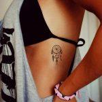 фото Маленькие тату для девушек от 26.01.2018 №026 - Little tattoos for girls - tatufoto.com