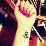 фото Маленькие тату для девушек от 26.01.2018 №032 - Little tattoos for girls - tatufoto.com