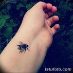 фото Маленькие тату для девушек от 26.01.2018 №037 - Little tattoos for girls - tatufoto.com