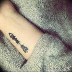 фото Маленькие тату для девушек от 26.01.2018 №048 - Little tattoos for girls - tatufoto.com