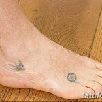 фото Маленькие тату для девушек от 26.01.2018 №067 - Little tattoos for girls - tatufoto.com
