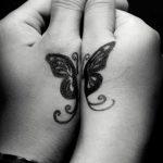 фото Маленькие тату для девушек от 26.01.2018 №080 - Little tattoos for girls - tatufoto.com