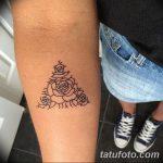 фото Маленькие тату для девушек от 26.01.2018 №084 - Little tattoos for girls - tatufoto.com