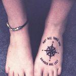 фото Маленькие тату для девушек от 26.01.2018 №090 - Little tattoos for girls - tatufoto.com